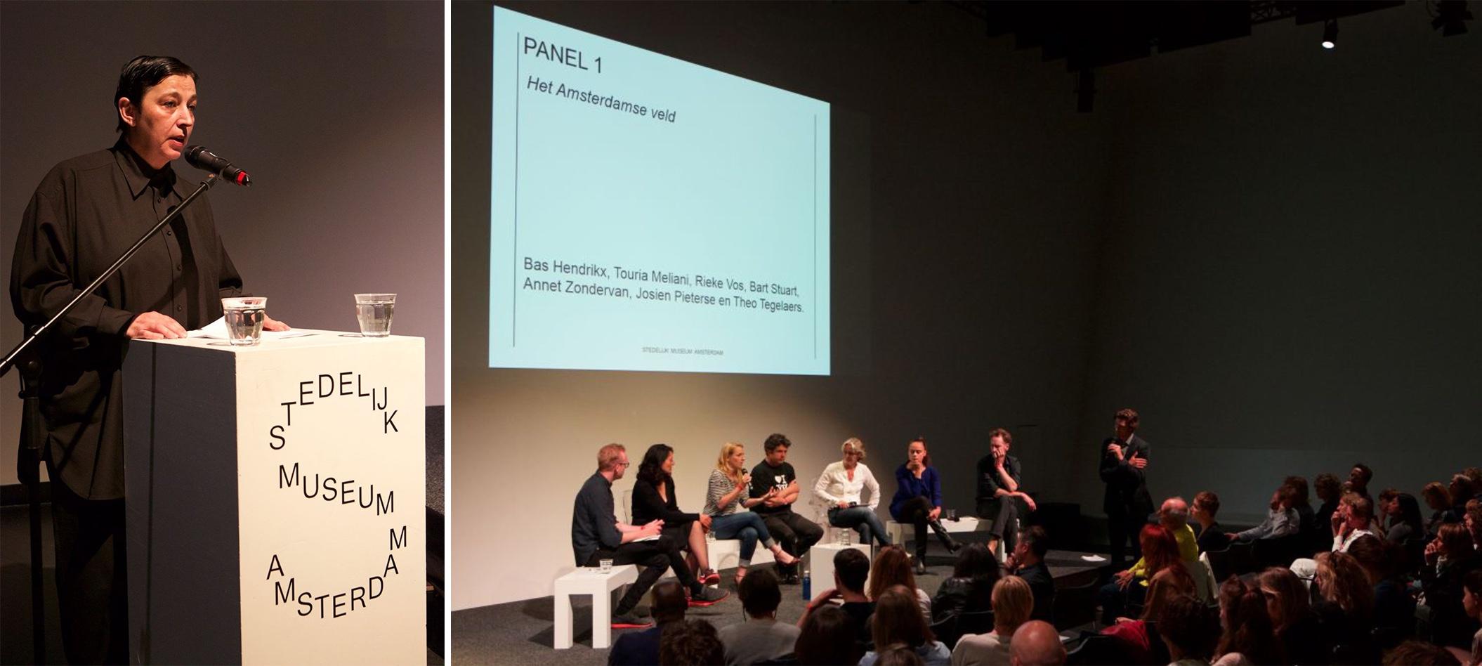 In debat bij het Stedelijk Museum met Beatrix Ruf